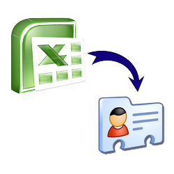 Online Excel/CSV to VCF Converter free